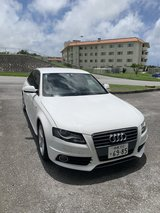 Audi A4 S-Line in Okinawa, Japan