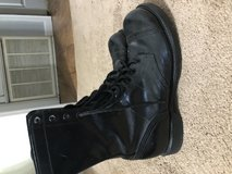 HH Black leather boots in Leesville, Louisiana