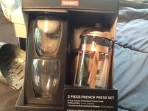 Copper 3 piece French press set in Kingwood, Texas