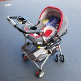 Graco Fast Action Click-Connect 35 stroller, seat, and base in Chicago, Illinois