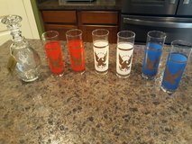 Bicentennial glasses and Decanter in Conroe, Texas