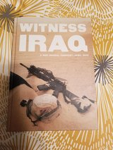 Witness Iraq Hardbound Edition Book in Conroe, Texas