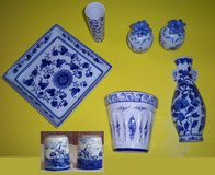 Blue & White Accent Pieces in St. Charles, Illinois