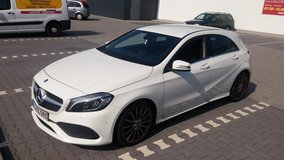 Mercedes A180 Peak Edition AMG Styling + Crosstrainer + stationary Bike in Ramstein, Germany