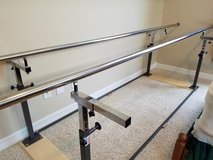 10' Physical Therapy Folding Parallel Bars in Houston, Texas