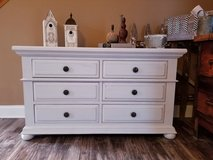 Refinished weathered and distressed dresser in Westmont, Illinois
