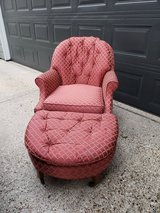 Vintage Chair and Ottoman in Kingwood, Texas