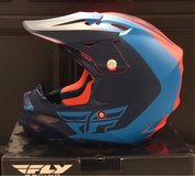 Fly Racing 2016 F2 Carbon Pure Helmet Matte Blue/Orange in Houston, Texas
