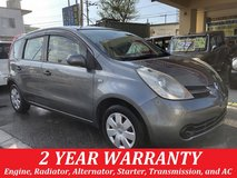 2 YEAR WARRANTY AND NEW JCI!! 2006 NISSAN NOTE!! FREE LOANER CARS AVAILABLE NOW!! in Okinawa, Japan