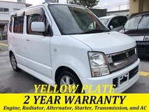 2 YEAR WARRANTY AND NEW JCI!! 2004 SUZUKI WAGON R!! FREE LOANER CARS AVAILABLE NOW!! in Okinawa, Japan