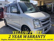 2 YEAR WARRANTY AND NEW JCI!! 2007 SUZUKI WAGON R LTD!! FREE LOANER CARS AVAILABLE NOW!! in Okinawa, Japan