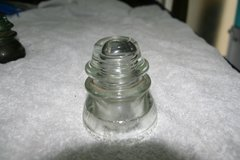 Clear Glass Insulator Hemingray 42 in Okinawa, Japan