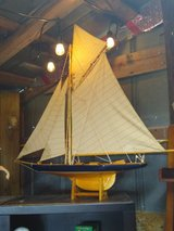 high quality model sailboat #2 hand made in Cherry Point, North Carolina