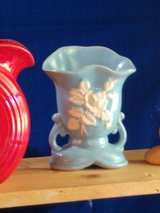 Weller pottery signed in Cherry Point, North Carolina