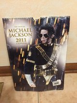 The Official Michael Jackson 2011 Calendar- New Unopened in Naperville, Illinois