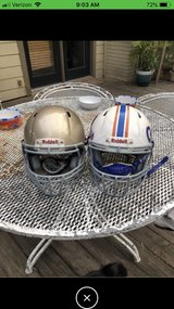 Football youth small and medium helmets in The Woodlands, Texas