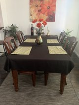 Dining Table and Chairs in Travis AFB, California