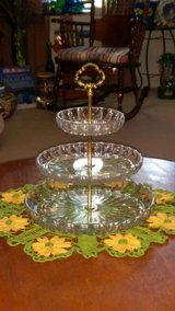 Vintage German 3 tier crystal in Byron, Georgia