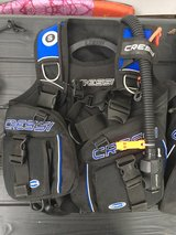 Cressi scuba diving BCD small in Camp Lejeune, North Carolina