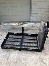 Trailer Hitch Carrier with Ramp in Kingwood, Texas