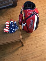 Titleist Staff Golf Bag and Headcovers in Okinawa, Japan