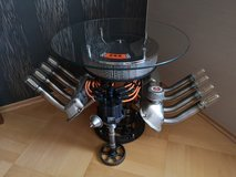 V8 Sidetable with lights in Ramstein, Germany