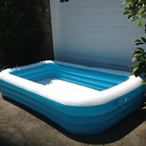 Large Inflatable Swimming Pool in Perry, Georgia