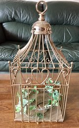 Metal Bird Cage Candle Holder Lantern Home Decor in St. Charles, Illinois
