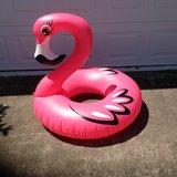 Large Inflatable Flamingo Inner Tube in Perry, Georgia