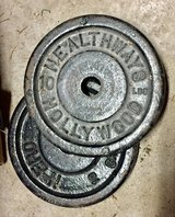 Set of 4 Vintage Healthways Hollywood 10 lb. Weights in Plainfield, Illinois