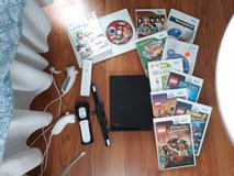 Wii console with lots of games and all equipment in Fairfield, California