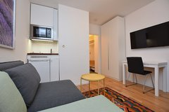 Fully Furnished Studio Apartment Stuttgart West with Balcony and parking spot in Stuttgart, GE