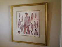Elvis Presley Framed Picture in Vista, California