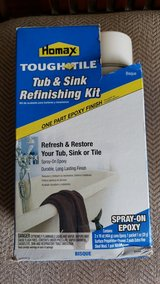 Tub and sink refinishing kit in Lockport, Illinois