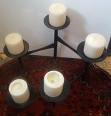 Black 5 Piece Adjustable Candle Holder in Camp Lejeune, North Carolina