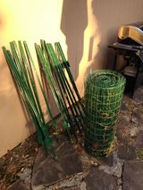 50 ft utility fencing and 16 posts in Spring, Texas