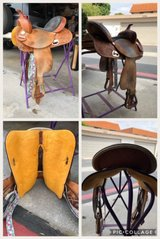 Barrel Saddle in Camp Pendleton, California