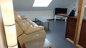 TLA 1 BR Apt, 5 min from Ramstein AB, roof conversion with AC in Ramstein, Germany