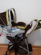Stroller and  matching car seat in Stuttgart, GE