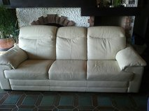 couch leather set in Ramstein, Germany