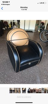 Basketball Leather Chair in Naperville, Illinois