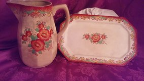 Vintage Mikori ware pitcher and platter in Kingwood, Texas