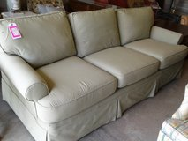 Sofa in Green Check #2429-9 in Camp Lejeune, North Carolina