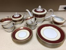 Noritake Rubigold Tea Set in Naperville, Illinois