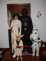 Star Wars Halloween costumes in Oswego, Illinois