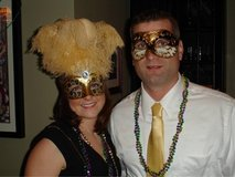 Mardi Gras, Halloween Masks in Oswego, Illinois
