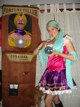 Halloween Costumes. Gypsy, fortune teller in Oswego, Illinois