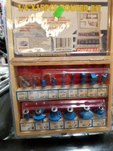 """1/4 """" 15 piece router bit set in Yucca Valley, California"""