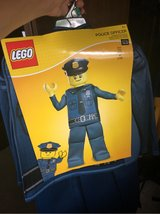 Halloween Lego police officer in Oswego, Illinois
