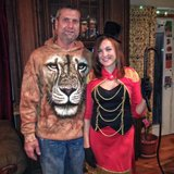 Halloween costume Lion and Lion Tamer/ring master in Oswego, Illinois